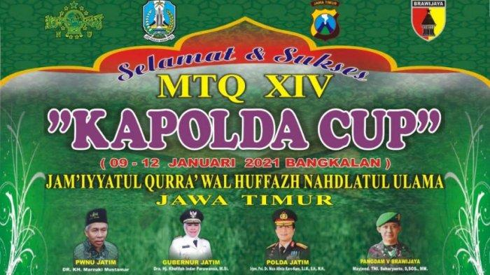 Strategi Dekatkan Santri dan Polisi, Kapolda Jawa Timur Gelar Lomba MTQ Kapolda Cup Secara Virtual