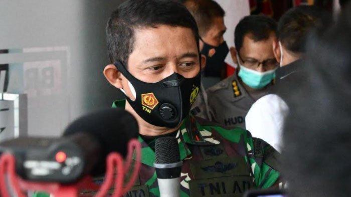 Pangdam V Brawijaya Pantau Langsung Kondisi Bangkalan, Bantu Pemkab Tangani Kasus Virus Corona