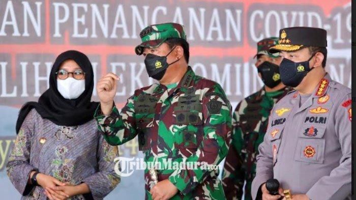 Panglima TNI dan Kapolri Apresiasi Kekompakan Banyuwangi Genjot Vaksinasi