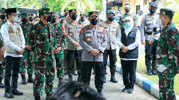 Panglima TNI dan Kapolri Perintahkan Anggota TNI-Polri Bantu Bupati Ra Latif Optimalkan PPKM Mikro