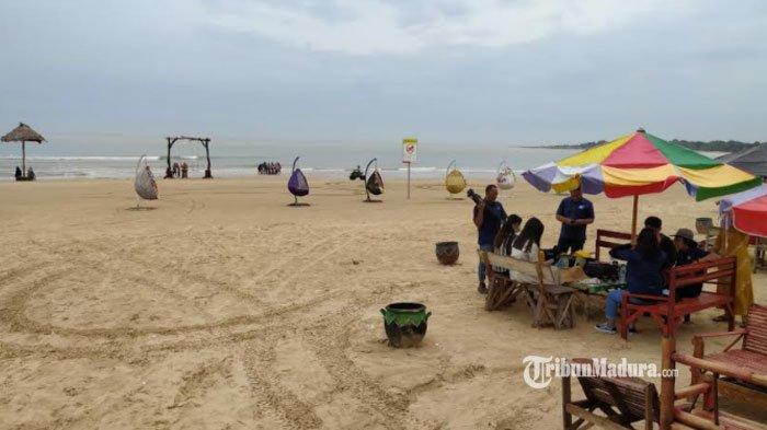 Dulu Dipenuhi Sampah, Pantai Tlangoh Bangkalan Disulap Jadi Destinasi Eksotik Wisata Keluarga Madura
