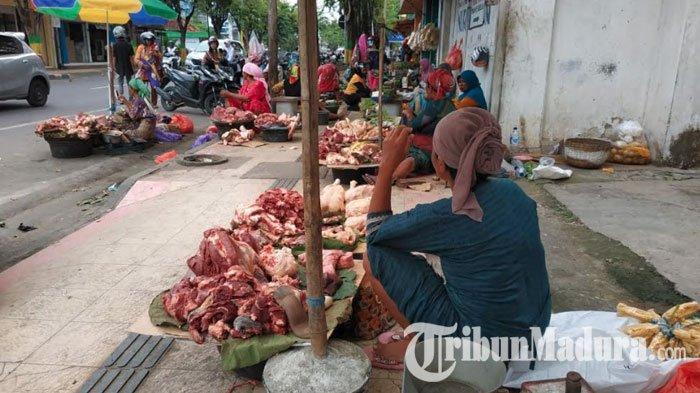 Jelang Bulan Ramadhan Harga Daging Sapi di Pamekasan Cenderung Stabil