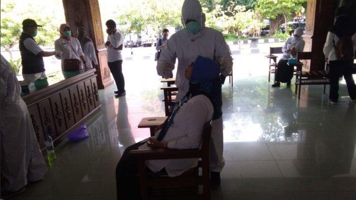 Hasil Swab Test Massal 48 Pejabat, 4 Orang Dinyatakan Positif Covid-19 di Pemkab Bojonegoro