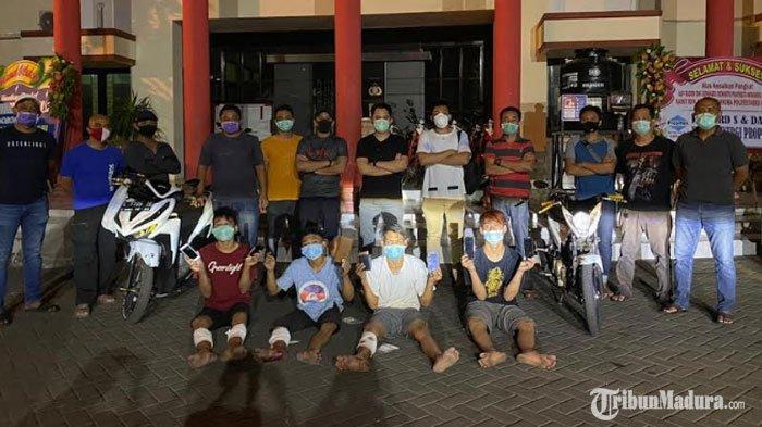 Komplotan Jambret Begal di Surabaya Dilumpuhkan Polisi, Satu di Antaranya Menyerah saat Ditangkap