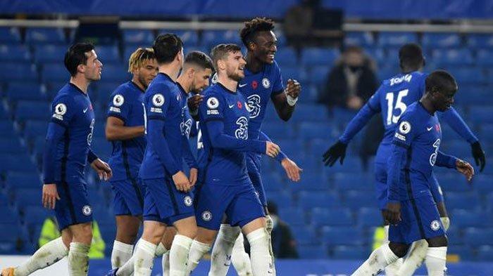 Klasemen Liga Inggris dan Hasil - Chelsea Pertahankan Posisi Empat Besar Usai Kalahkan Everton