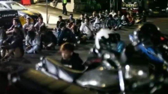 86 Motor Knalpot Brong di Kota Blitar Disita saat Razia Balap Liar, Rata-rata Tidak Memenuhi Standar