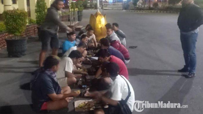 Diduga Ikut Taruhan Balap Liar di Ring-road Kota Madiun, 14 Remaja Ditangkap Polisi