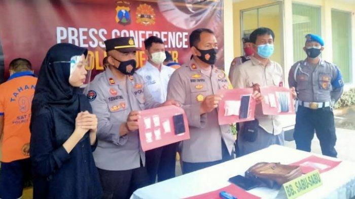 Polres Jember Tangkap Lima Pengedar Sabu Seberat 178,55 Gram dari Madura di Lima Tempat Berbeda