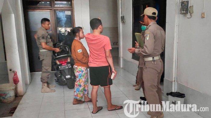 Terciduk Razia Petugas di Tuban, 2 Pasangan Bukan Suami Istri 'Kumpul Kebo' ini Positif Narkoba