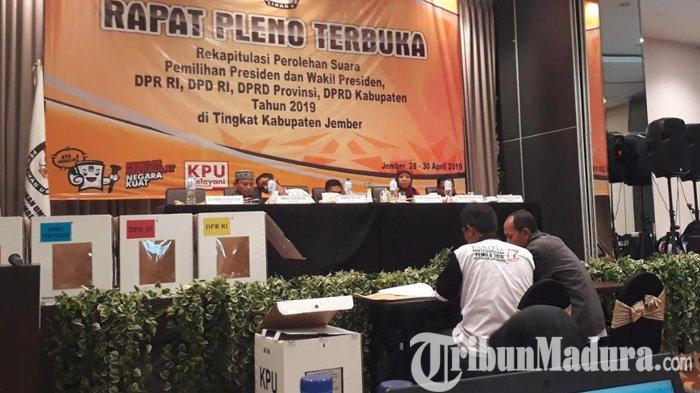 Hasil Pilpres 2019 - Sisakan Dua, Jokowi Babat 29 Kecamatan di Jember dan Menang Mutlak Atas Prabowo