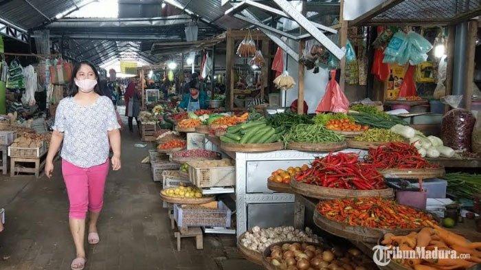 Harga Bahan Pokok di Trenggalek Naik Jelang Natal dan Tahun Baru, Cabai Rawit Jadi Rp 42 Ribu per Kg