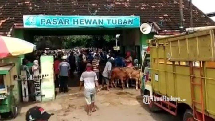 Imbas PPKM Darurat, Pasar Hewan di Kabupaten Tuban Ditutup Selama Dua Pekan ke Depan