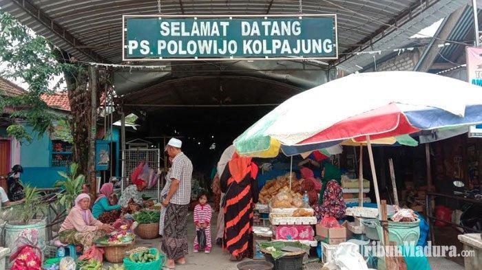 Pedagang di Pasar Kolpajung Pamekasan Berstatus PDP, Menolak Terima Perawatan di Rumah Sakit