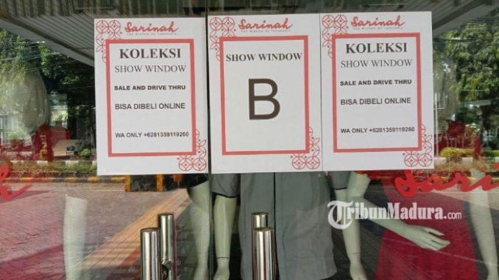 Gerai Tutup Selama PSBB Malang Raya, Penjualan Sarinah Malang Dialihkan Drive Thru