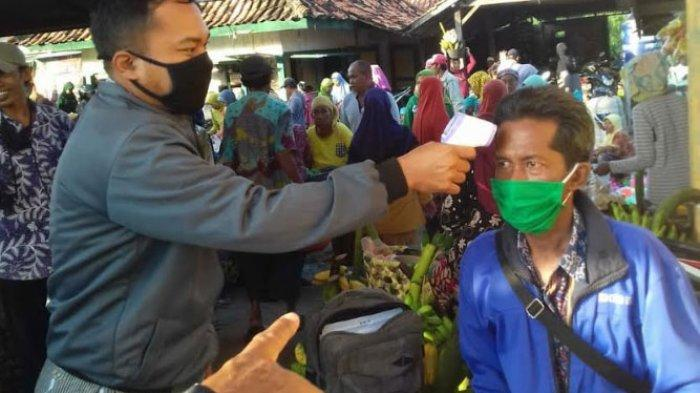 Seluruh Pasar Terapkan New Normal, Dinas Perdagangan Bangkalan: Kepala Pasar Harus Beli Thermo Gun