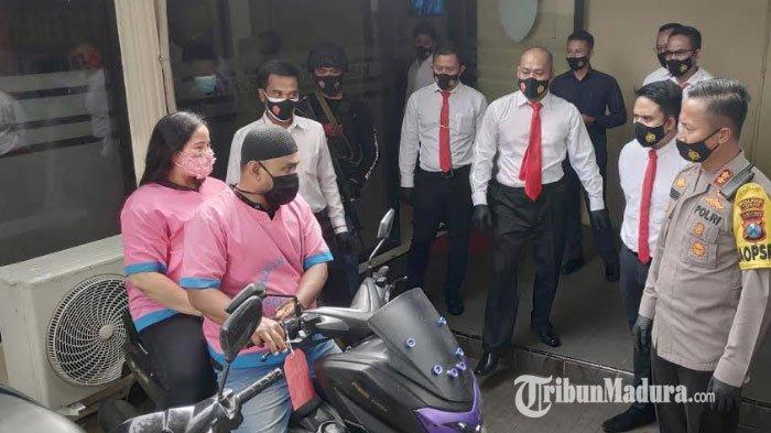 Aksi Pencurian Motor dan Handphone di Rumah Tuban Terungkap, Pasangan Suami Istri Beraksi Tujuh Kali