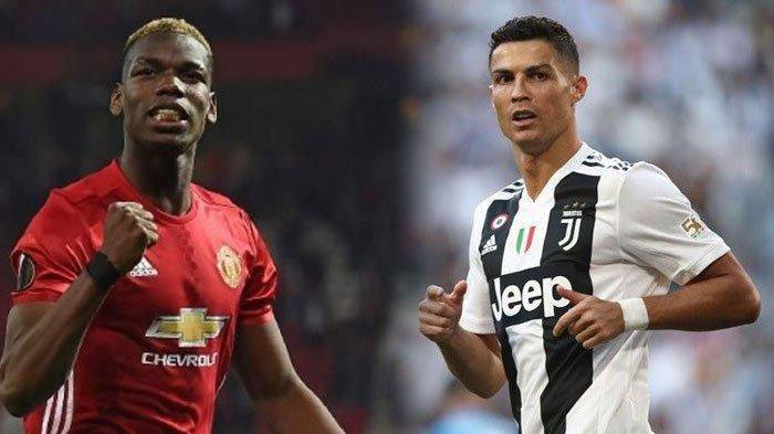 Rumor Cristiano Ronaldo Bakal Ditukar Pogba, Pertukaran Juventus dan Machester United akan Terwujud?