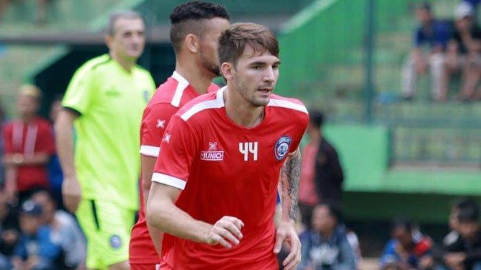 Lawan Timnas U-22, Arema FC Percaya Diri Meski TanpaPavel Smolyachenko dan Dendi Santoso