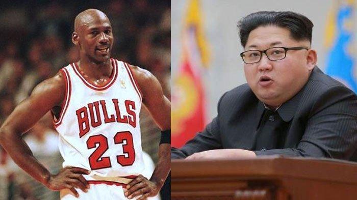 Pemimpin Korea Utara, Kim Jong Un Ternyata Idolakan Pebasket Amerika Serikat Michael Jordan