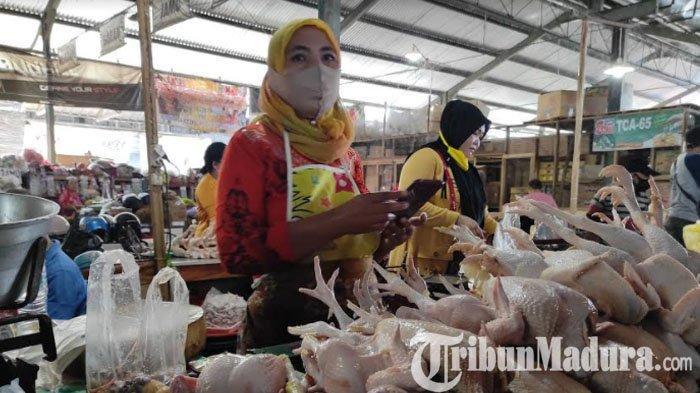 Monitoring Harga Komoditi Jelang Ramadan, Harga Daging Ayam Broiler Meroket, Cabai Rawit Turun