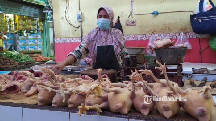 Harga Daging Ayam di Lamongan Sentuh Rp 40 Ribu, Harga Telur hingga Minyak Goreng Juga Naik