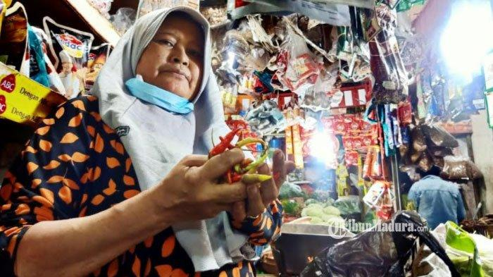 Harga Cabai Rawit di Pasar Wonokromo Surabaya Berangsur Turun, Penjualan Masih Lesu, Ini Sebabnya