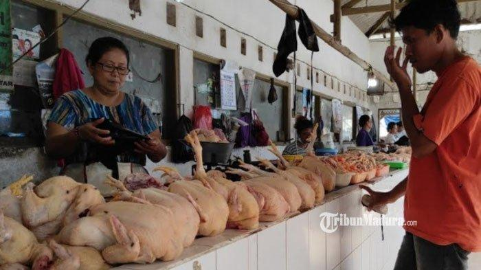 Jumlah Pasokan Disebut Jadi Penyebab Harga Daging Ayam di Sumenep Merangkak Naik pada Ramadan 2021