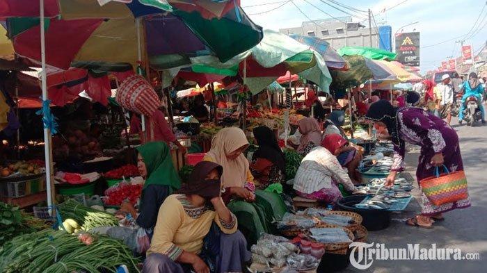 PKL dan Tempat Parkir Pasar Polowijo Pamekasan Bakal Ditertibkan, Dinilai Jadi Penyebab Kemacetan