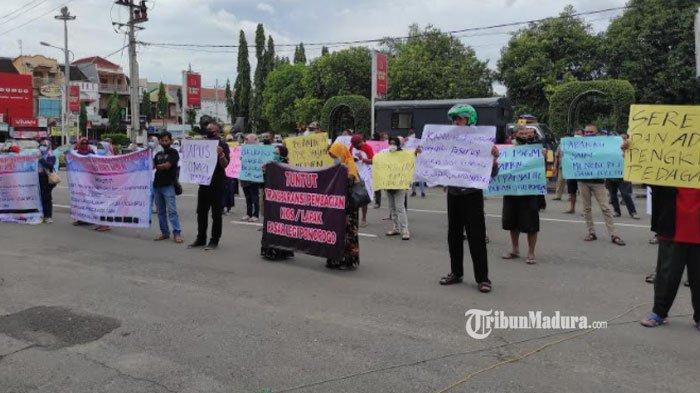 Audiensi Pembagian Lapak Pasar Legi Ponorogo Masih Belum Tuntas, Tuntutan Pedagang Belum Terealisasi