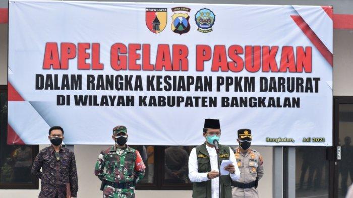 Hari Pertama PPKM Darurat di Bangkalan, Bupati Ra Latif : Ini Tugas Berat, Tapi Kita Harus Bijaksana