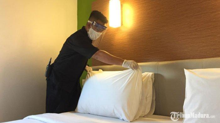 Hotel Amaris Malang Kembali Beroperasi Sambut Masa New Normal, Barang Bawaan Tamu Wajib Disterilkan