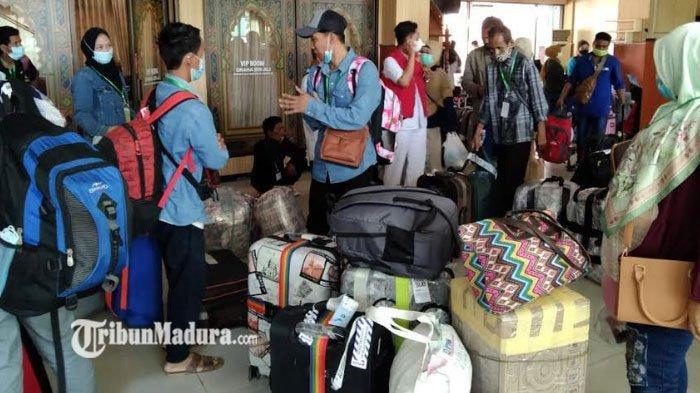 27 TKI dari Malaysia dan Singapura Pulang Kampung ke Sumenep, Kini Jalani Isolasi Selama 3 Hari