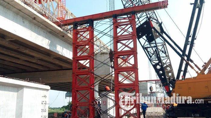 Pengerjaan Proyek Jalan Tol Krian-Manyar Capai 70 Persen, Direncanakan H-8 Lebaran Bisa Dilintasi