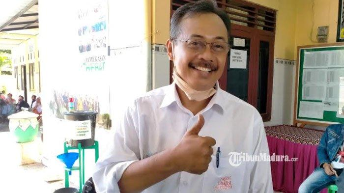 Pelaksana Tugas (Plt) Kepala Dinas Pemberdayaan Masyarakat dan Desa (DPMD) Pamekasan, Achmad Faisol.