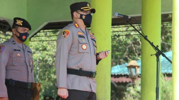 Saat Larangan Mudik Lebaran 2021 Diterapkan, Polres Bondowoso Perketat Penjagaan di Perbatasan