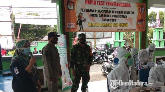 KPU Tuban Rapid Test Massal Penyelenggara Pemilu Selama Sepekan: Jika Tak Mau, Langsung Kami Ganti
