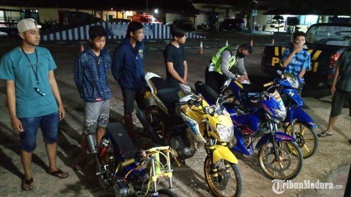 Cegah BalapLiar selama Ramadhan, Satlantas Polres Sumenep Tingkatkan Patroli Jelang Buka Puasa