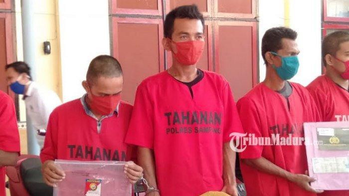 Tak Terima Dituduh Curi Pompa, Pria Sampang Aniaya Tetangga Pakai Celurit, Satu Luka Robek di Kepala