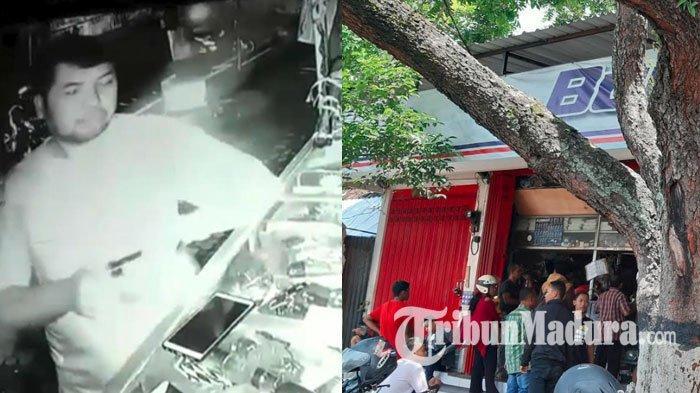 Pencuri Gondol Ponsel yang Ketinggalan di Sebuah Toko, Rekaman CCTV Aksinya Viral di Sosmed
