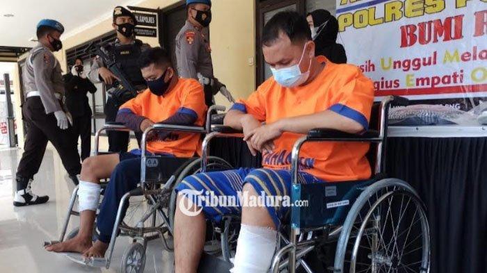 Polres Ponorogo Hadiahi Timah Panas pada Dua Pencuri Pembobol Mobil Antar Provinsi