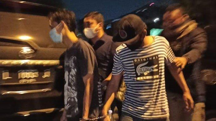 BREAKING NEWS - Polisi Tangkap Pelaku Pengeroyokan Anggota TNI di Terminal Bungurasih Sidoarjo