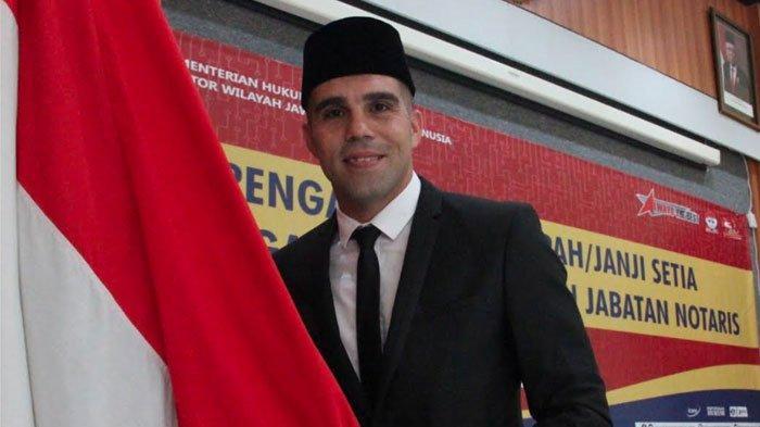 Fabiano Beltrame Dilantik Jadi WNI,Mantan Pemain Madura United:Saya Suka Sekali di Sini