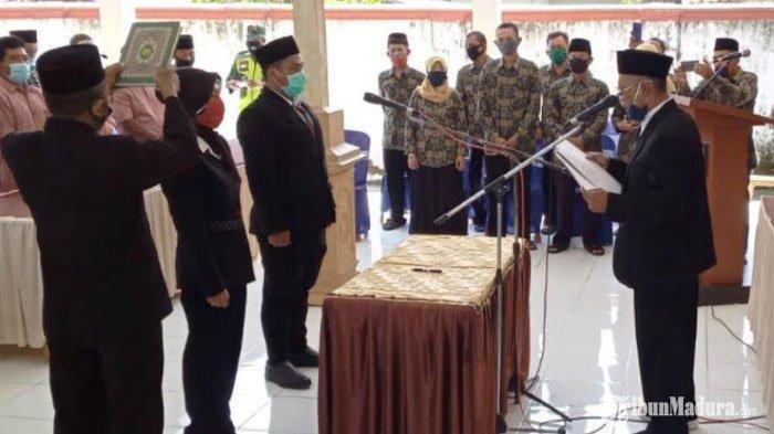 Wajah Haru Anas Abu Said, Resmi Dilantik Jadi Kepala Dusun setelah 6 Tahun Lamanya Menunggu
