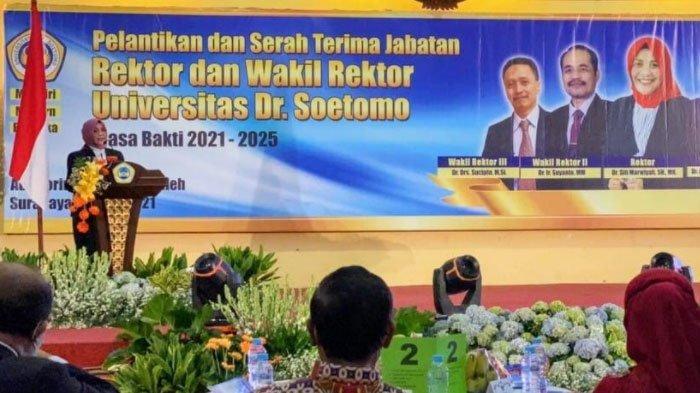 Kisah Adik Mahfud MD Siti Marwiyah, Dulu dari Keluarga Susah hingga Jadi Rektor Unitomo Surabaya