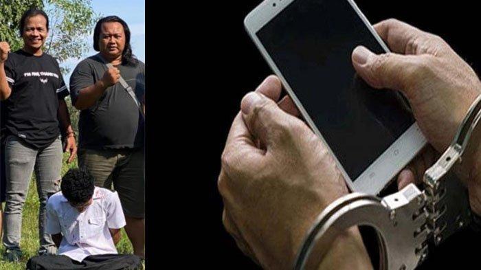 Pelarian Pencuri Handphone di Berbagai Kota Berakhir, Ditemukan Sembunyi di Rumah Saudara di Sampang