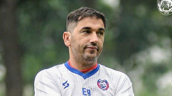 Lawan Bhayangkara FC, Eduardo Almeida : Seharusnya Pemain Lebih Sabar