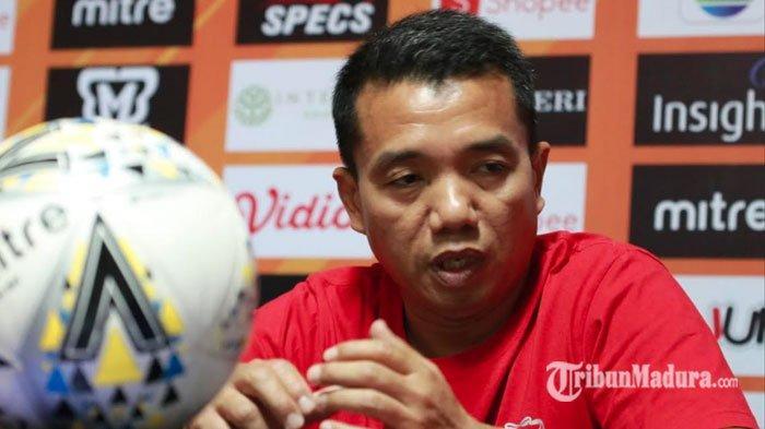 Pelatih Rasiman Kecewa Madura United Buang Banyak Peluang hingga Ditahan Imbang Barito Putera