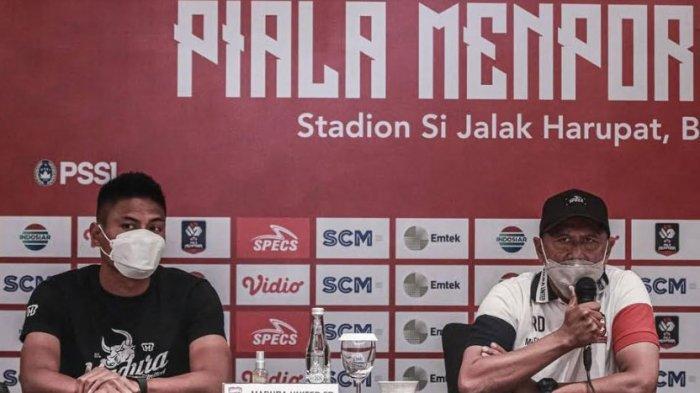 Pelatih dan Kapten Madura United Imbau Semua Suporter Nonton Piala Menpora 2021 dari Rumah