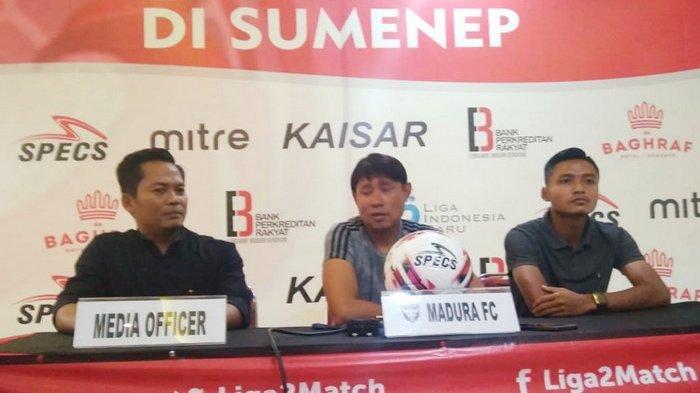 Madura FC Lawan Bogor FC di Liga 2, Madura FC Harap Pemainnya Tak Grogi dan Tampil Maksimal