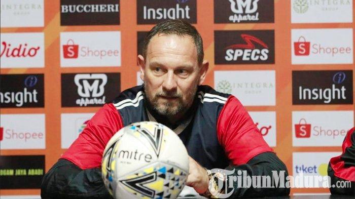 Jaga Asa Perebutan Gelar Juara Liga 1 2019, Dejan Antonic Optimis Madura United Kalahkan Bali United